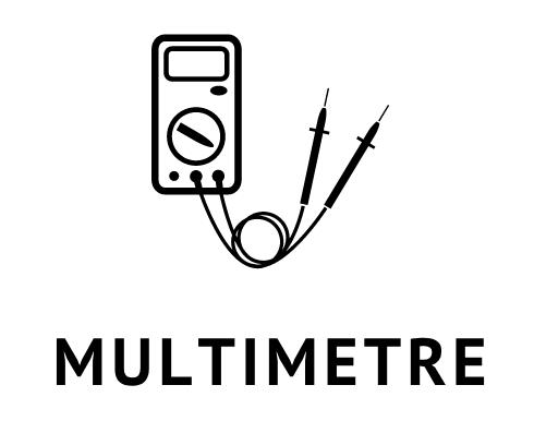 AC//DC WORKPRO Multim/ètre Num/érique Professionnel 9999 Comptage R/ésistance Continuit/é Capacitance Diodes Fr/équence Pile Incluse Testeur Numerique avec NCV Tension//Courant
